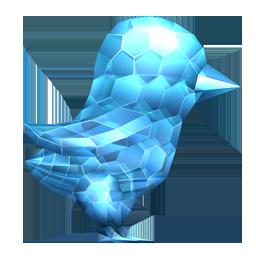 Crystal Twitter Bird