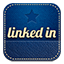 Linkedin retro icon