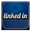Linkedin retro icon
