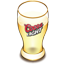 Coors beer glass icon