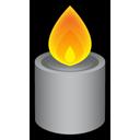 Candle grey-128