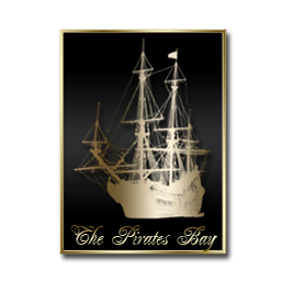 The Pirates Bay Black and Gold