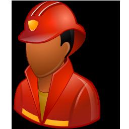 Firefighter Male Dark