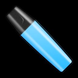 Marker Stabilo Blue Shut