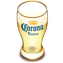 Corona beer glass-256