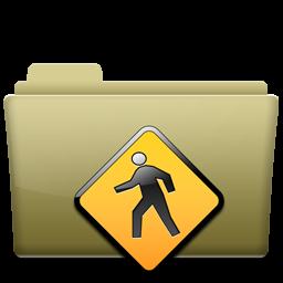 Folder Public Brown
