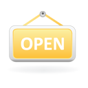 Open Sign-128