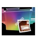 Folder rainbow picture-128