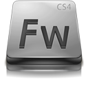Adobe Fireworks CS4 Gray-128
