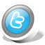 Twitter button icon