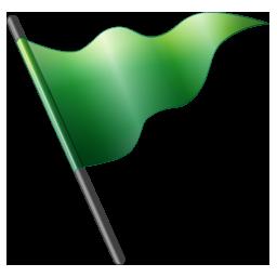 Flag1 green