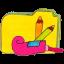 Folder y applications Icon