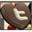 Twitter heart-128