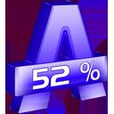 Alcohol 52%-128
