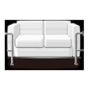White Sofa Icon