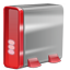 Hard Drive red Icon