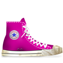 Converse Pink dirty-128