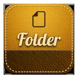 Folder retro