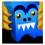 Blue Creature-64