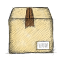 Box hand drawn