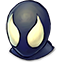 Black Spidey Icon
