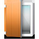 iPad 2 White organge cover-128