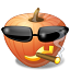 Cool Pumpkin Icon