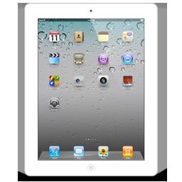 iPad 2 Scratch White