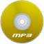 Mp3 Yellow Icon