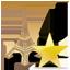 Eiffel Tower Star Icon