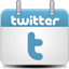 Calendar Twitter Icon