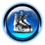 Christmas Ice Skates icon