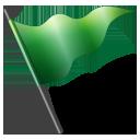 Flag1 green-128