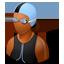 Swimmer Female Dark icon