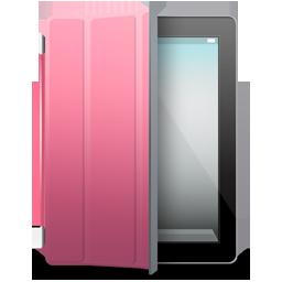 iPad 2 black pink cover