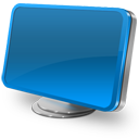 Computer blue-128