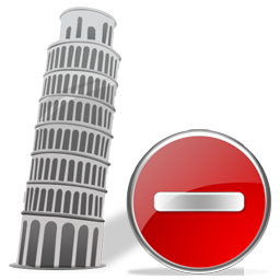 Tower of Pisa Delete