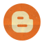 Retro Blogger Rounded Icon