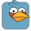 Angry Birds Blue Icon