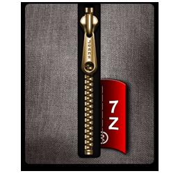 7Z gold black