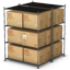 Stacked Boxes Icon