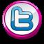 Twitter pink button-64