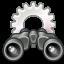 Gnome System Search Icon