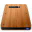 Wooden Slick Drives Internal Icon