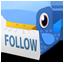 Bird follow Icon