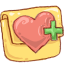 Folder Favheart icon