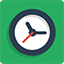 Time flat icon