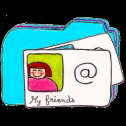Folder b contacts