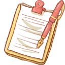 Notepad Yellow Pen-128