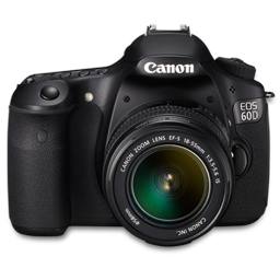 Canon 60D front up